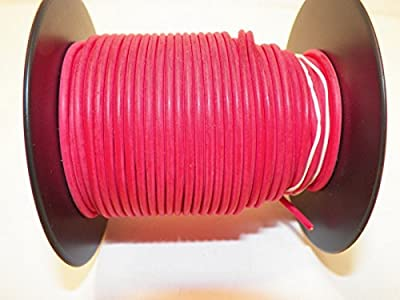 RED Automotive GXL Copper Wire, 16 GA, AWG, GAUGE. Truck, Motorcycle, RV. General Purpose. 2 DEFFERENT LENGTHS, SELECT LENGTH BELOW