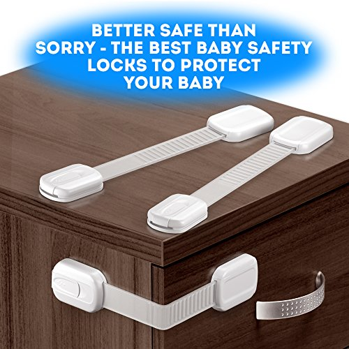Multipurpose Baby Safety Child Cabinet Lock Latch Set Of