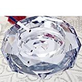 European fashion Crystal ashtray/ creative personality home ashtray/[Hotels]KTVAshtray-Q