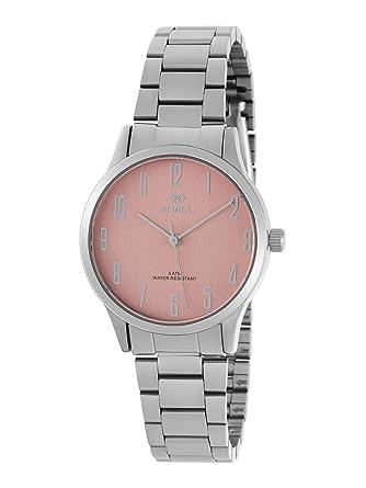 Reloj Marea Analógico Mujer B41242/6 Armis Acero y Esfera Rosa Claro: Amazon.es: Relojes