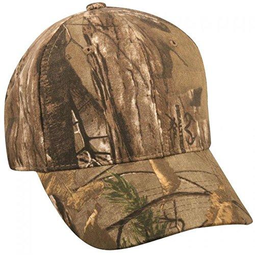 Outdoor Cap Camouflage Cap, Realtree Xtra, Adjustable (Hat Adjustable Camo Realtree)