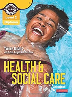 Preparing to work in adult social care level 2 amazon level 2 health and social care diploma candidate book 3rd edition work based learning fandeluxe Image collections