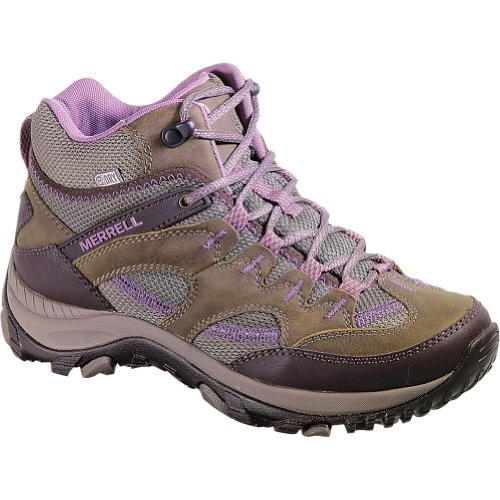 Image of Merrell Women's Salida Mid Waterproof Hiking Boot,Brindle,5 M US