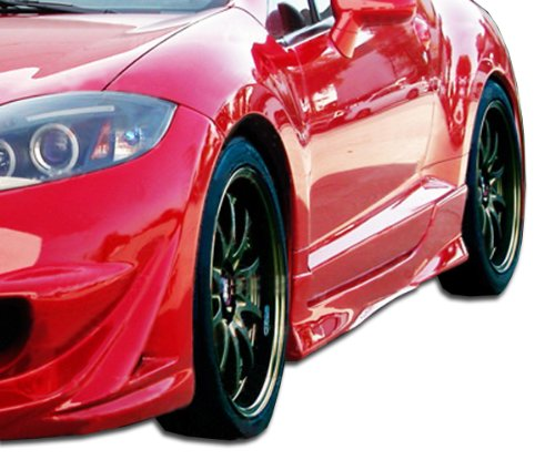 Duraflex ED-UPY-985 Eternity Side Skirts Rocker Panels - 2 Piece Body Kit - Compatible For Mitsubishi Eclipse 2006-2012