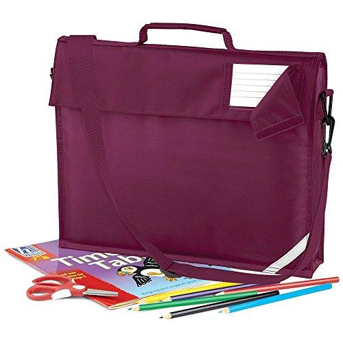 Kinder Tasche für Hefte Block Bücher Tragetasche Schule Schulstart