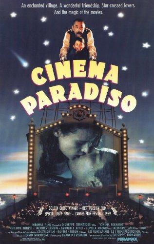 Cinema Paradiso Póster de película B - 28 cm x 44 cm 11 x 17 ...