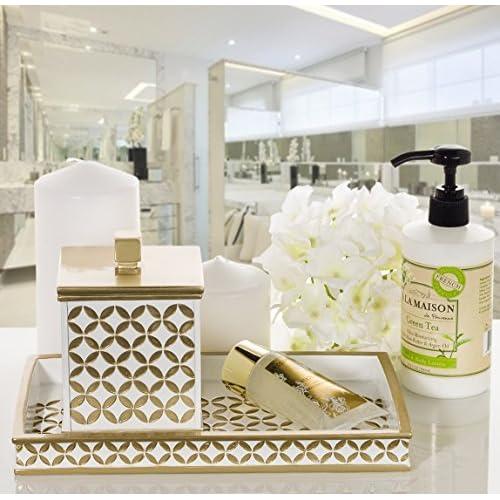 Beau Hot Sale 2017 Diamond Lattice Guest Towel Holder, Decorative Cosmetics  Organizer, Best Vanity Trays