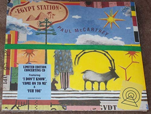 PAUL McCARTNEY Egypt Station LIMITED EDITION EXPANDED TARGET CD