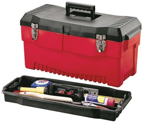 Stack-On PR-23 23-Inch Professional Multi-Purpose Plastic Tool Box, Red