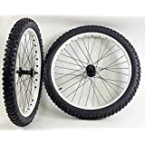 Amazon Com 26 Inch Fat Tire Bike Bicycle Wheels 26 X 4 0