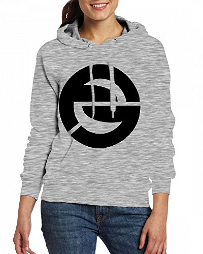 Smith Hoodies Women's Logo Fame Grey Gaming Dennis Customizable Personalized Fdq6FO