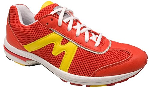 Unisexe 40 Taille Rouge Jaune M1 Courir qUyH60Ew