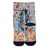 Crazy Maneater Socks Tube Socks Cool Street Socks Hip Hop Street Professional Skateboard Sports Men Women Socks Black