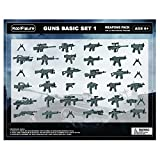 custom guns - Koolfigure Custom World War 2 Weapons Set for Military Minifigures, Building Blocks Figures Accessories, Guns for Minifigs