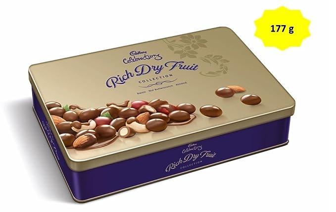 Amazon Cadbury Celebrations Rich Dry Fruit Chocolate Gift Box