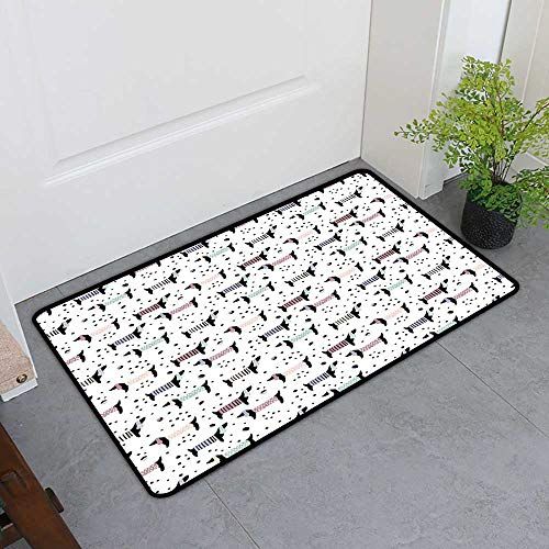 TableCovers&Home Boots Scraper Mat, Dog Lover Non-Slip, used for sale  Delivered anywhere in USA
