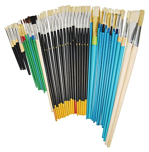 - Heritage Arts ABP102 42-Piece Perfectly Imperfect Brush Value Set