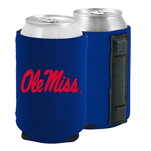 Magnetic Kolder Kaddy NCAA Can Cooler Coolie, One Piece (Ole Miss Rebels) (Miss Ole Bottle Cooler)