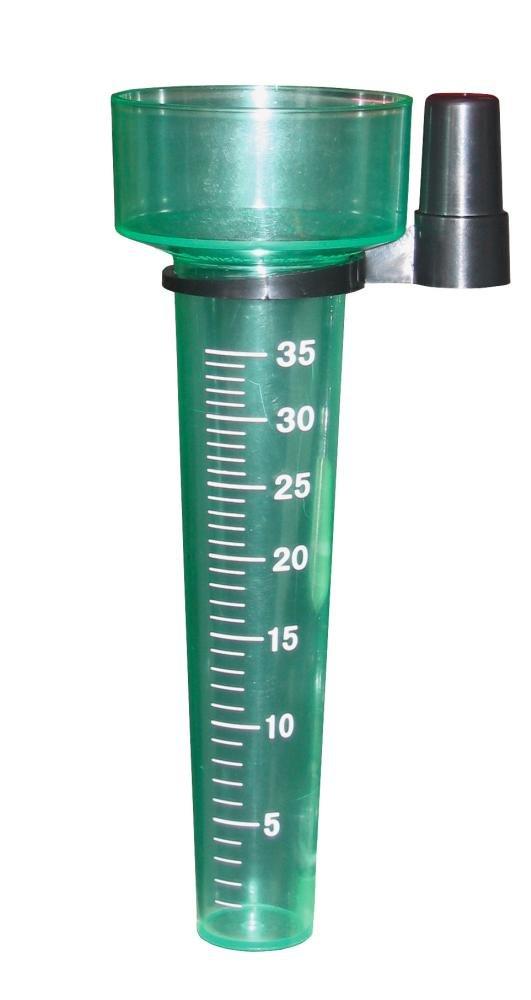 Koch formschöner Regenmesser Niederschlagsmesser mit großer Skala 93300