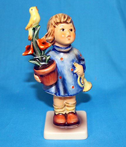 Hummel Goebel 17/0 - Congratulations- Girl with flower pot t