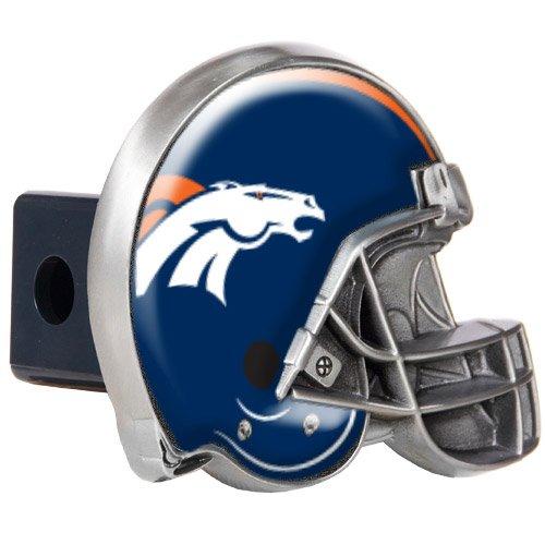 (NFL Denver Broncos Helmet Trailer Hitch Cover)