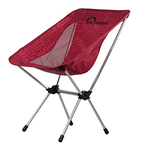 Folding Camping Chairs with Carrying Bag, Compact Ultralight Foldable Beach Chair -Portable Heavy Duty Outdoor Chair for Backpacking, Hiking, Camp, Beach, Fishing