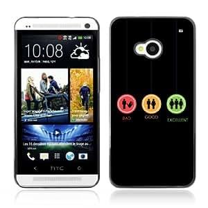 YOYOSHOP [Funny Signs] HTC One M7 Case