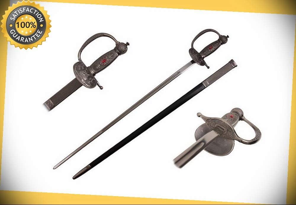 """35/"""" Medieval Zorro Fencing Rapier Sword"""