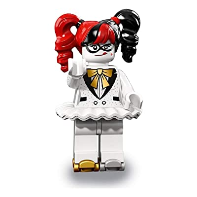 LEGO The Batman Movie Series 2 Collectible Minifigure - Disco Harley Quinn (71020): Toys & Games