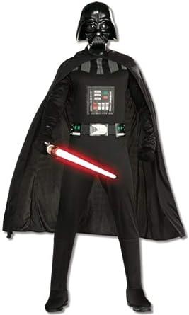 Star Wars - Disfraz de Darth Vader con espada para hombre, Talla ...