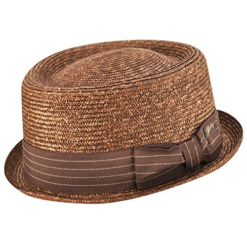 2d3d7106a0677 Bailey of Hollywood Lamar Pork Pie Chestnut M at Amazon Men s Clothing  store  Fedoras
