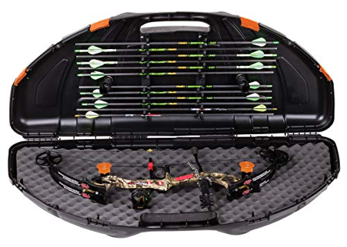 Flambeau Outdoors 6461SC Archery Safeshot Compound Bow Case 30 Series Bow Tie