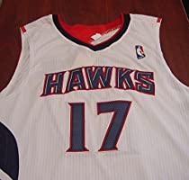 f86eca741 Dennis Schroder Atlanta Hawks Autographed White  17 Jersey JSA COA. Loading  Images.