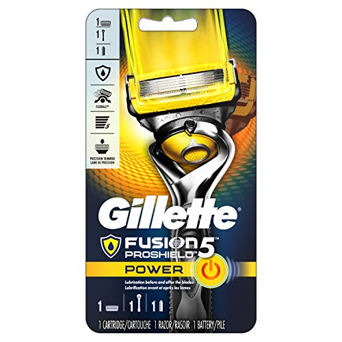 Gillette Fusion5 ProShield  Men's Razor, Handle & 1 Blade Refill
