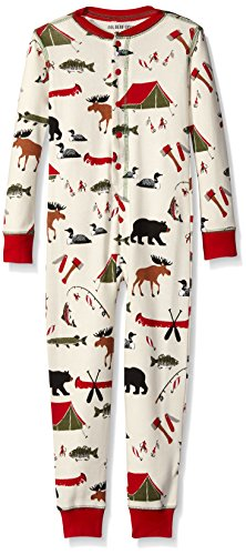 Little Blue House by Hatley Unisex Kid's Big Union Suit, Gone Camping, 12 Years]()
