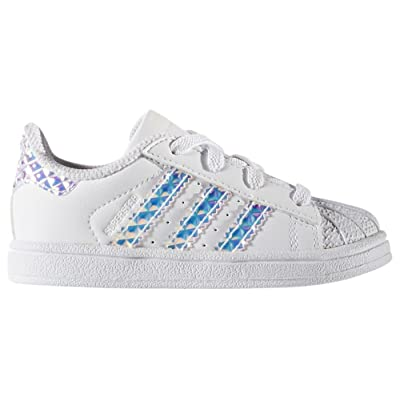ADIDAS Infant Superstar 'Iridescent' CG3598 (6 Infant)