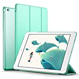 iPad Mini 2 Case, ESR iPad Mini Smart Case Cover [Synthetic Leather] Translucent Frosted Back Magnetic Cover with Sleep/Wake Function [Ultra Slim][Light Weight] for iPad Mini 1/2/3 (Mint Green)