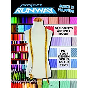 Project Runway Designer's Activity Book (Digest) Modern Publishing and Project Runway