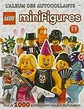Lego minifigures Séries 1-7 : L'album des autocollants