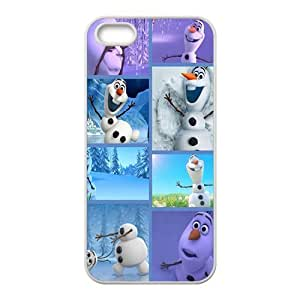 Frozen lovely snow doll Cell Phone Case for iPhone 5S