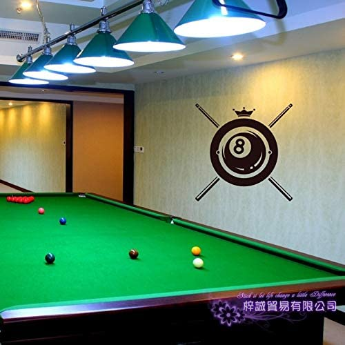 Billar Sticker Snooker Decal Posters Vinilo Tatuajes de Pared Decoración Mural Billiards Sticker 40X40CM: Amazon.es: Bebé