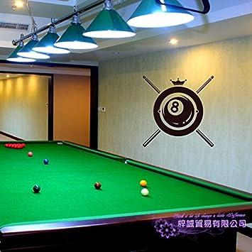 Ajcwhml Billar Sticker Snooker Decal Posters Vinilo Tatuajes de ...