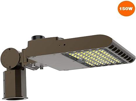 5700K DAYLIGHT PARKING LOT LIGHT POLE HEAD 150 WATT LED SHOEBOX//FLOODLIGHT