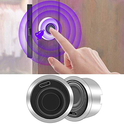 Fingerprint Cabinet Lock, Embedded Smart Keyless Furniture Drawer Security Locks for Home Office