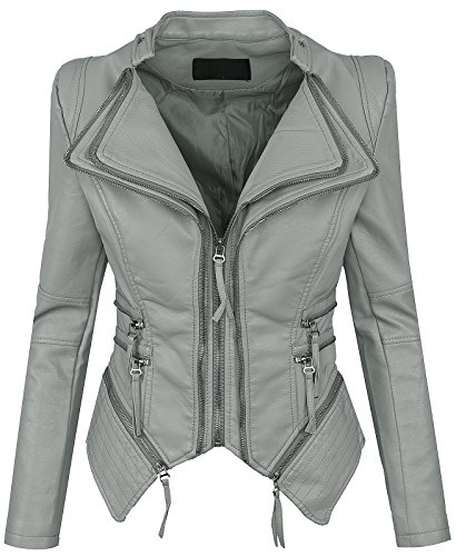 Femme Selection Gris Blouson Rock Creek wfZqXZz