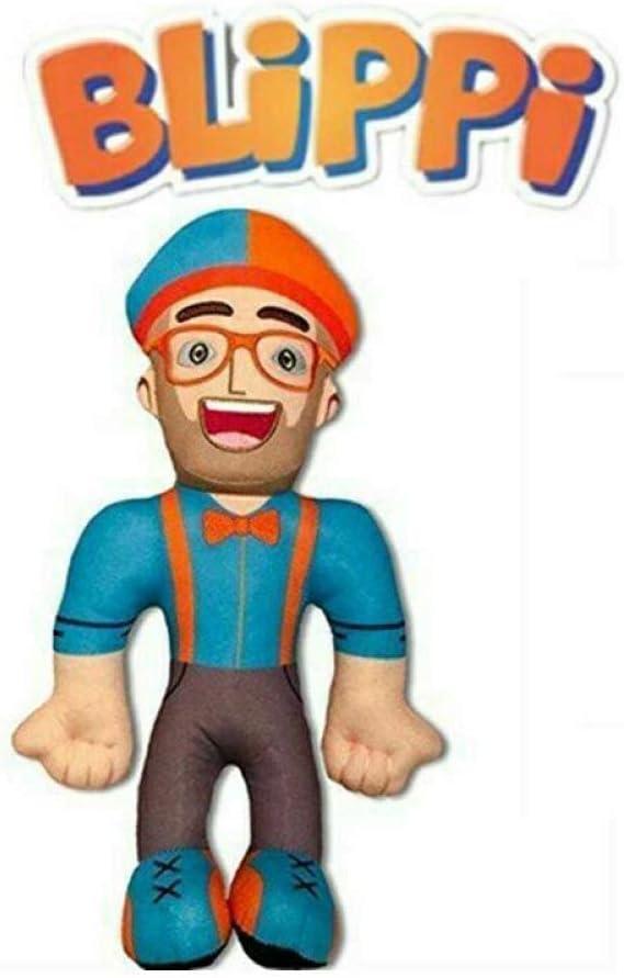 AMZYY Mu/ñeca De Felpa Figura De Peluche Suave Gafas De Juguete Sombrero para Regalo De Ni/ños