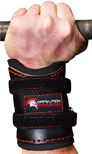 Weightlifting gym Wrist Wraps support for pull ups bench press deadlift exercise pain mens girls elastic neoprene 8 12 18 24 36 inch xs xl brace usa with thumb loop ipf uspa unisex 2 pair red black