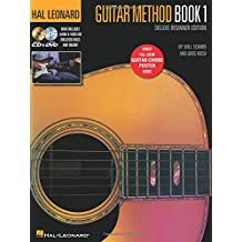 Hal Leonard Guitar Method - Book 1, Deluxe Beginner Edition: Includes Audio & Video on Discs and Online Plus Guitar Chord Poster