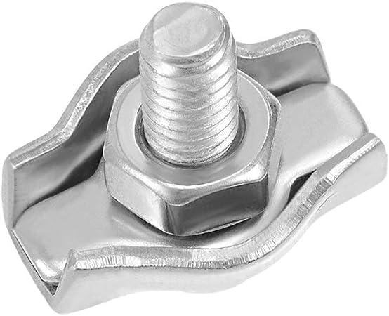 Carte de Source Unique en acier inoxydable 304/Wire Rope Clip c/âble Clamp pour 1/Mm-1.5/mm Corde