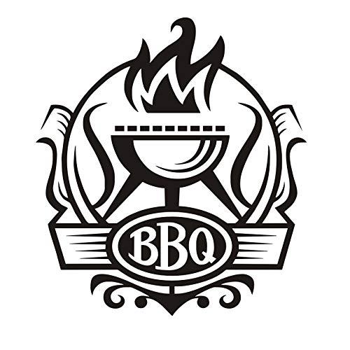 Etiqueta De La Pared, Cocina Bbq Insignia Diy Pegatinas De ...